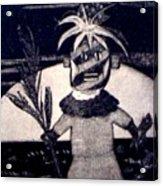 Kachina Goes Hawaiian Acrylic Print