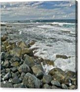 Kaena Point Shoreline Acrylic Print