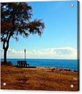 Kahe Point Beach Park Acrylic Print