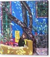 Kahlo Blue - Sold Acrylic Print