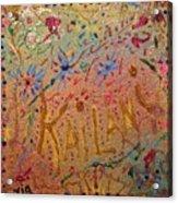Kailani's Sweet Sixteen Acrylic Print