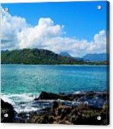 Kailua Bay Hawaii Acrylic Print