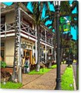 Kailua Village - Kona Hawaii Acrylic Print