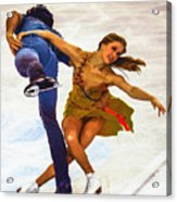 Kaitlyn Weaver And Andrew Poje Acrylic Print