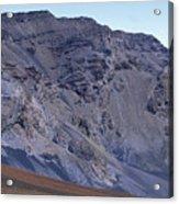 Kalahaku Pali And The Haleakala Crater Acrylic Print