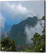 Kalalau Valley Acrylic Print