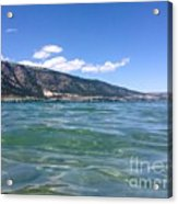 Lake Of Many Colours Acrylic Print