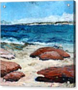Kalbarri  Beach Acrylic Print