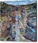 Kalbarri Gorge Acrylic Print