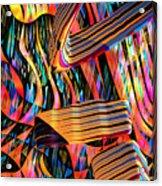 kaleido Calligraph 10x11m3n27m5aa Acrylic Print