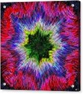 Kaleidomicro Acrylic Print