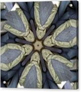 Kaleidoscollage Acrylic Print