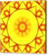 Kaleidoscope 100 Acrylic Print