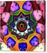 Kaleidoscope 120 Acrylic Print