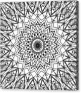 Kaleidoscope 790 Acrylic Print