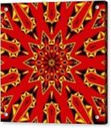 Kaleidoscope 89 Acrylic Print