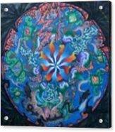 Kaleidoscope Eyes Acrylic Print