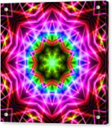 Kaleidoscope I Acrylic Print by Kenneth Krolikowski
