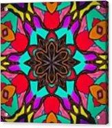 Kaleidoscope Of Color Acrylic Print