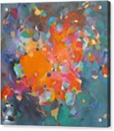 Kaleidoscope Of Colour Acrylic Print