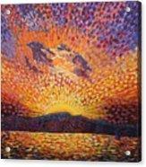 Kaleidoscope Sunrise Acrylic Print