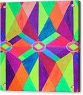 Kaleidoscope Wise Acrylic Print by Ann Sokolovich
