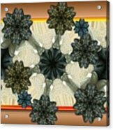 Kaleidoscopeflowers Acrylic Print