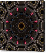 Kaleidoscopic Calculator Acrylic Print