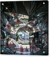 Kaleidoscopic Tokyo Acrylic Print