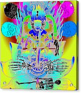 Kali Yuga Acrylic Print by Eric Edelman