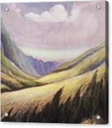 Kalihi Valley Art Acrylic Print