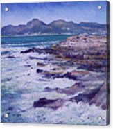 Kalk Bay and Fish Hoek  Cape Town South Africa 2006  Acrylic Print