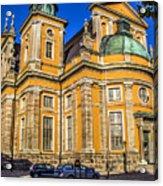 Kalmar Cathedral Exterior Acrylic Print