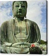 Kamakura Daibutsu Acrylic Print