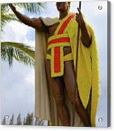 Kamehameha Acrylic Print