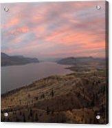 Kamloops Lake British Columbia Canada Acrylic Print