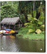Kamokila Hawaiian Village - Kauai Acrylic Print