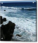 Kanaio Ahihi Kinau Maui Hawaii Acrylic Print
