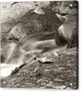 Kanaka Creek Bw Acrylic Print