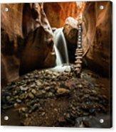 Kanarra Creek Falls  Acrylic Print