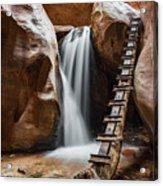 Kanarraville Falls Acrylic Print