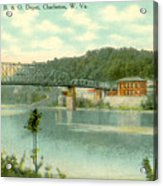 Kanawha Bridge Acrylic Print
