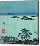 Kanazawa Full Moon 1857 Left Acrylic Print