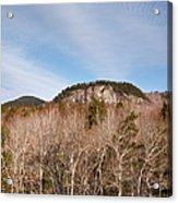 Kancamagus Highway - White Mountains New Hampshire - Rocky Cliff Acrylic Print