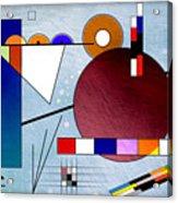 Kandinsky II Acrylic Print