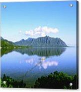 Kaneohe Bay Acrylic Print