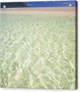 Kaneohe Sandbar Acrylic Print