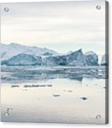 Kangia Icefjord Acrylic Print