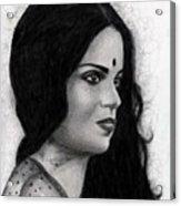 Kangna Ranaut Acrylic Print