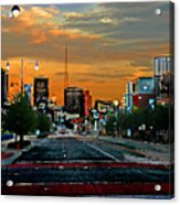 Kansas City Evening Acrylic Print